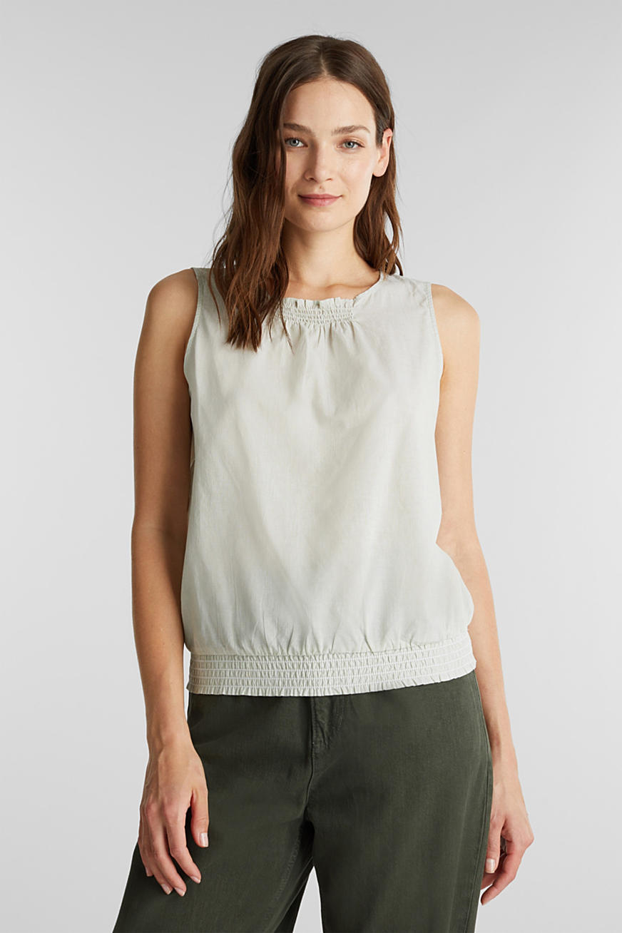 Blouse top, organic cotton