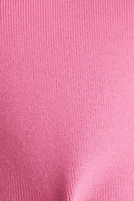 Stand-up collar jumper, PINK FUCHSIA, detail
