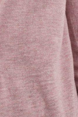 Cardigan, 100% cotton, MAUVE 5, detail