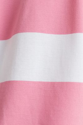 Polo shirt, 100% cotton, PINK, detail