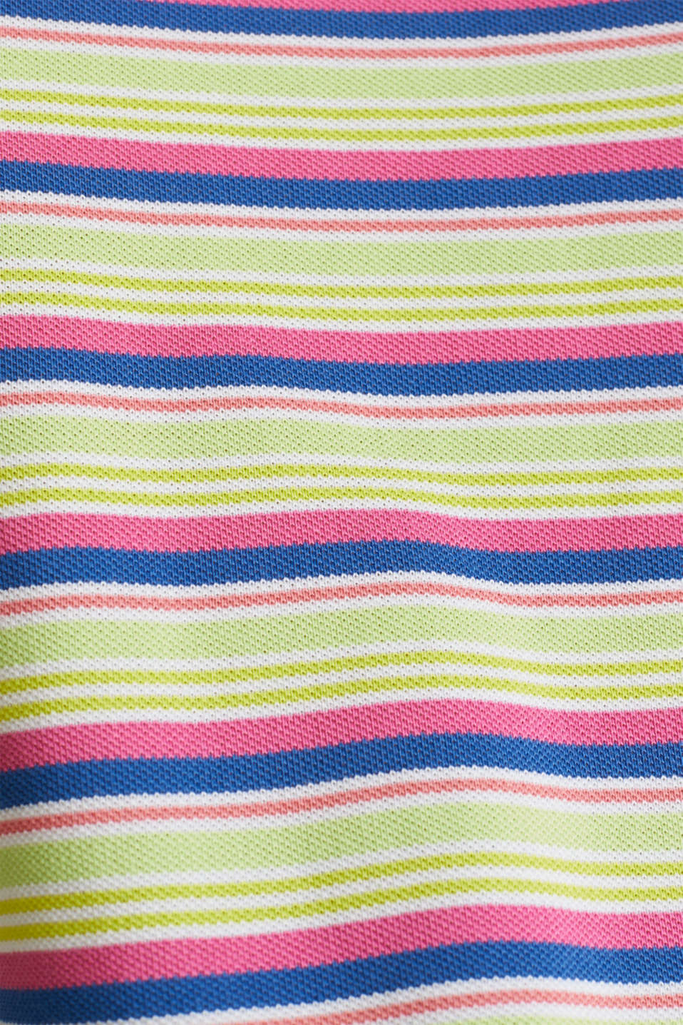 Piqué T-shirt in 100% cotton, PINK FUCHSIA, detail image number 3