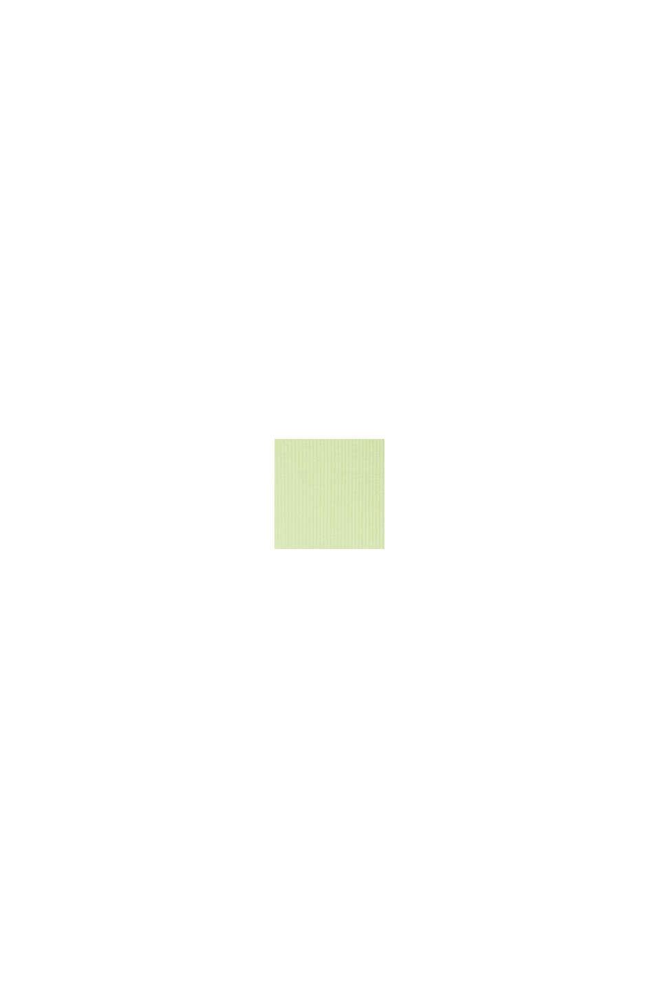 Elastyczny top z bawełną organiczną, LIME YELLOW, swatch