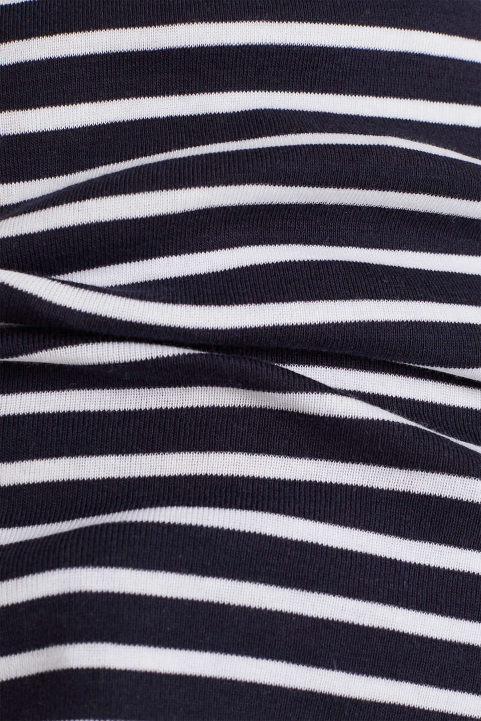 T-shirt containing organic cotton, NAVY, detail image number 3