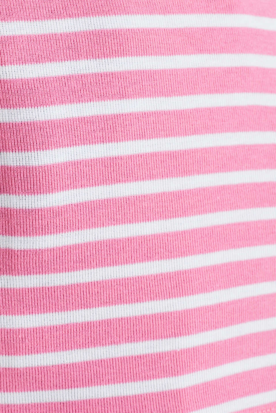 T-shirt containing organic cotton, PINK 4, detail image number 3