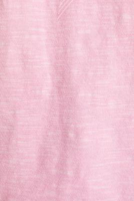 Print t-shirt with organic cotton, PINK, detail