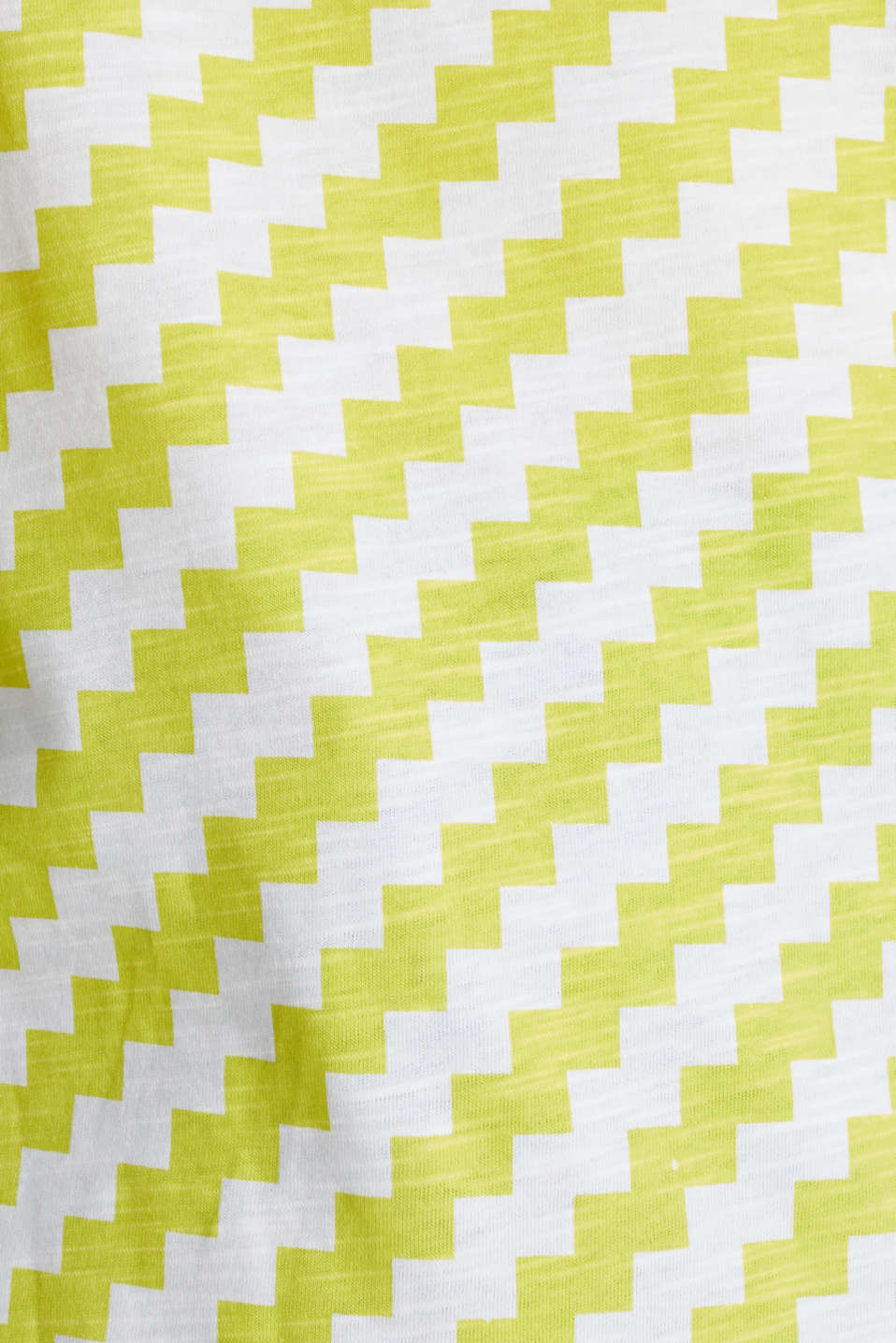 100% cotton T-shirt containing organic cotton, YELLOW, detail image number 4