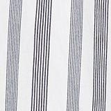 Striped top with a Carmen neckline, NAVY, swatch