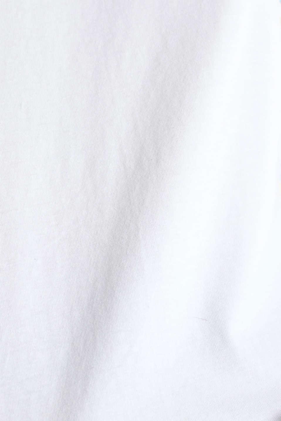 Printed T-shirt, 100% cotton, WHITE, detail image number 3