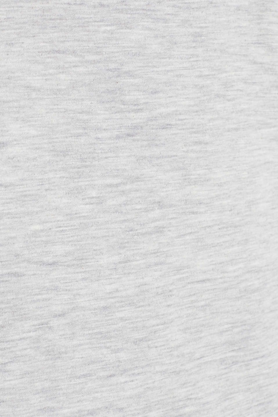 Top with organic cotton, LIGHT GREY 5, detail image number 4