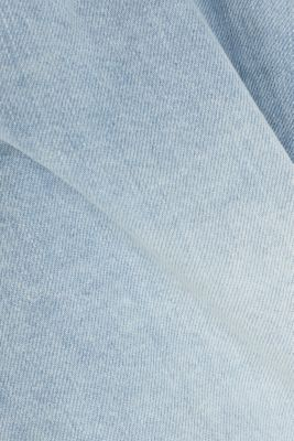 Denim shorts made of 100% cotton, BLUE BLEACHED, detail