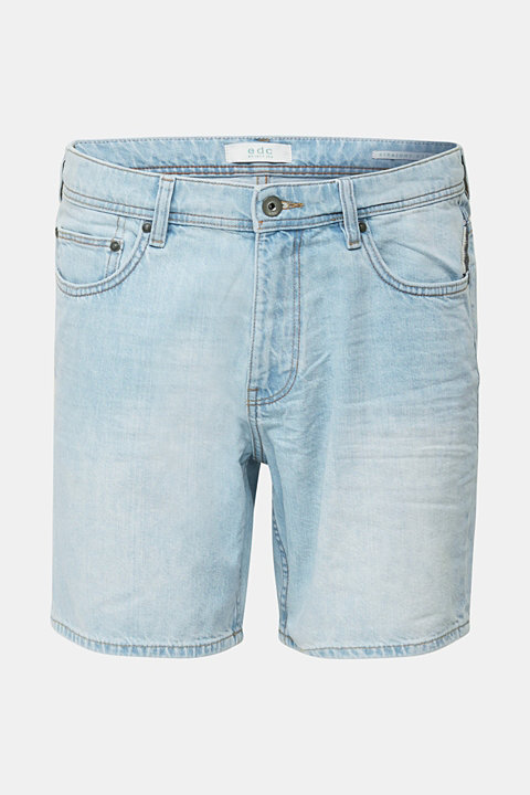 Denim shorts made of 100% cotton