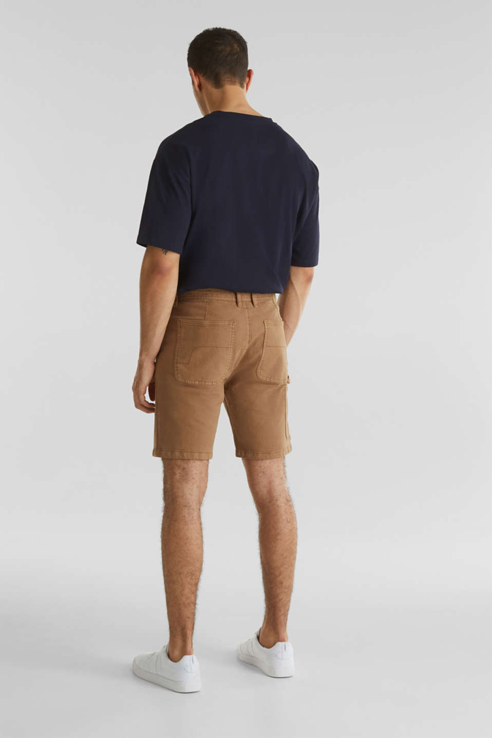 Stretch cargo shorts, CAMEL, detail image number 3