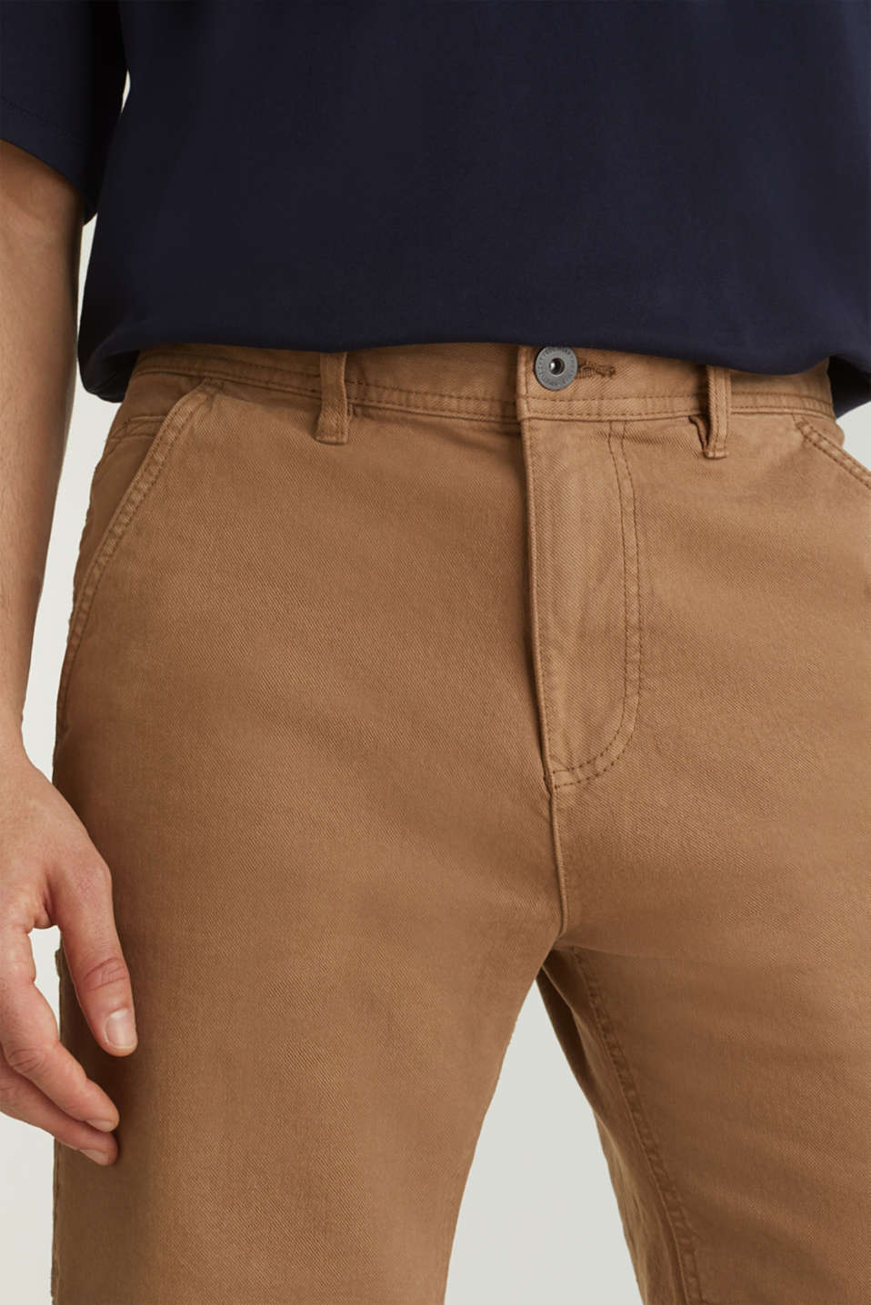 Stretch cargo shorts, CAMEL, detail image number 2