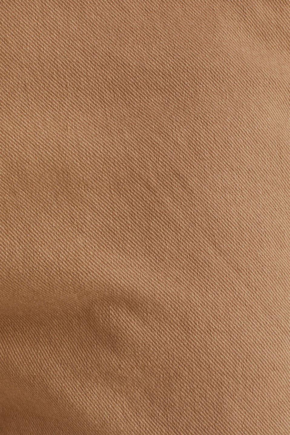 Stretch cargo shorts, CAMEL, detail image number 4