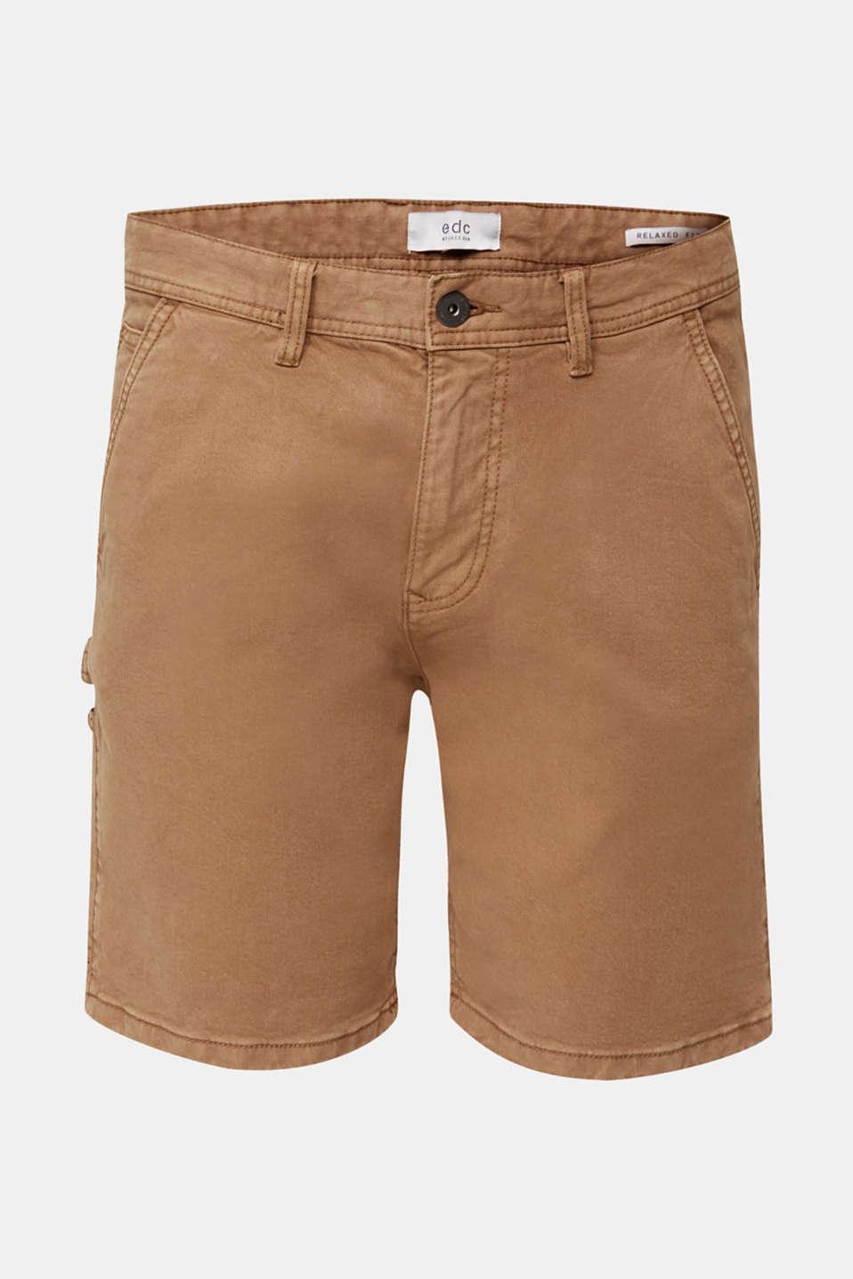 Stretch cargo shorts, CAMEL, detail image number 6