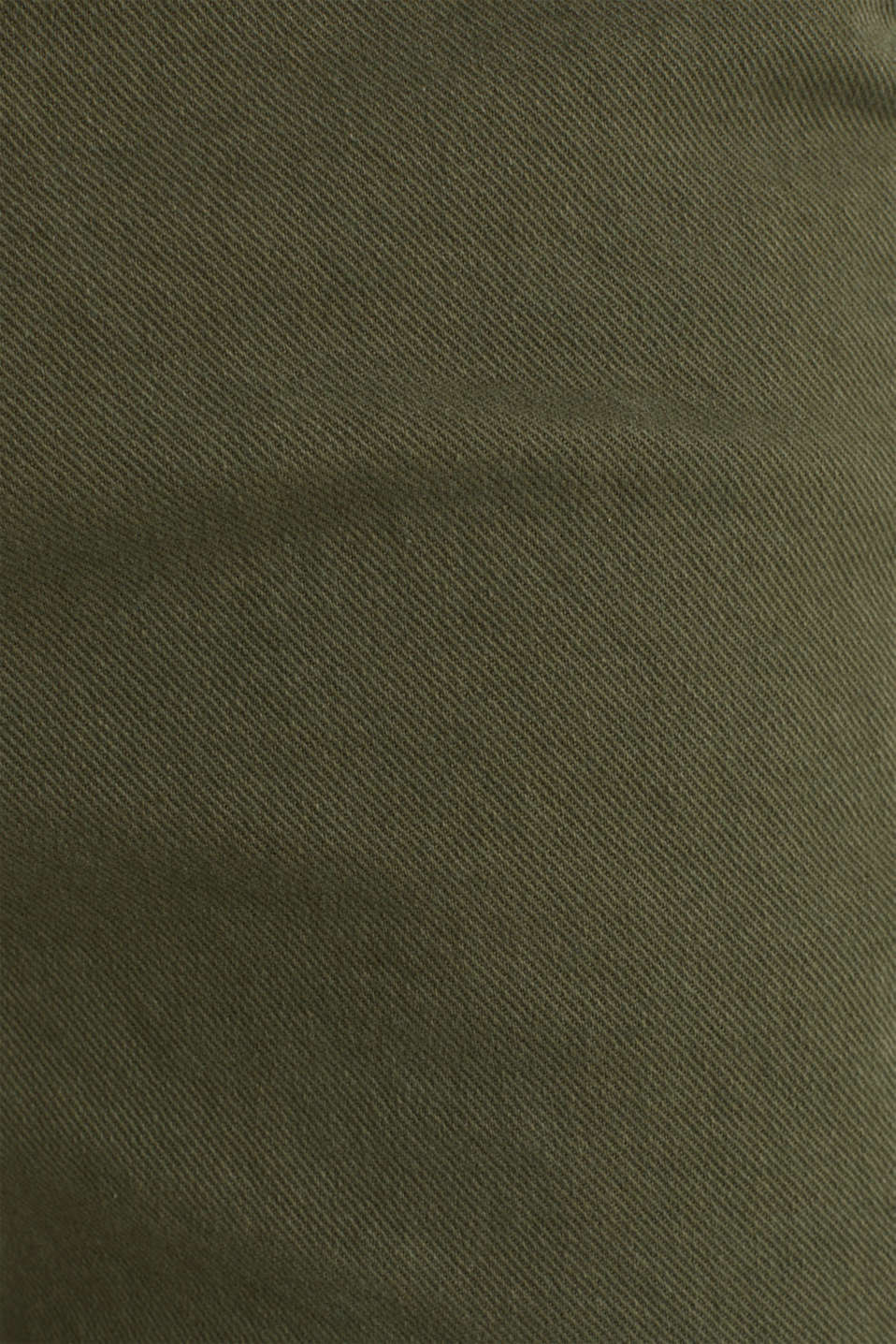 Stretch cargo shorts, KHAKI GREEN, detail image number 4