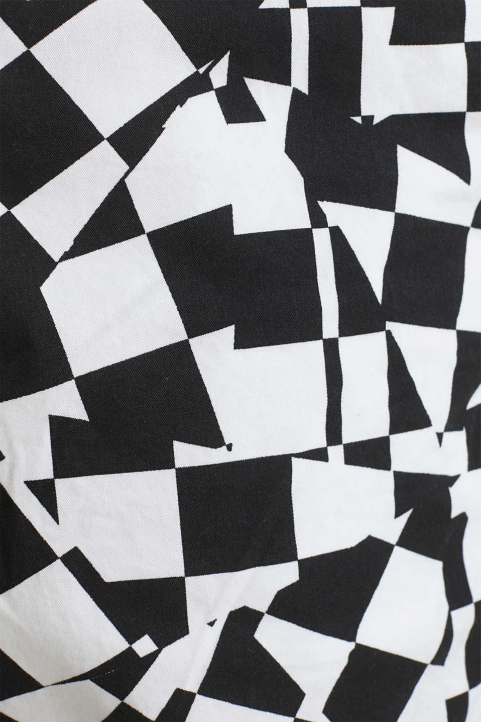 Print Bermudas in 100% cotton, WHITE, detail image number 4