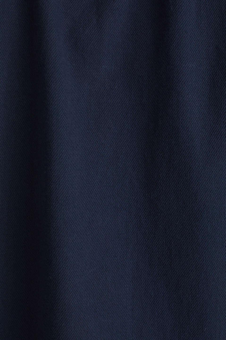 Short sleeve shirt, 100% cotton, NAVY 2, detail image number 4
