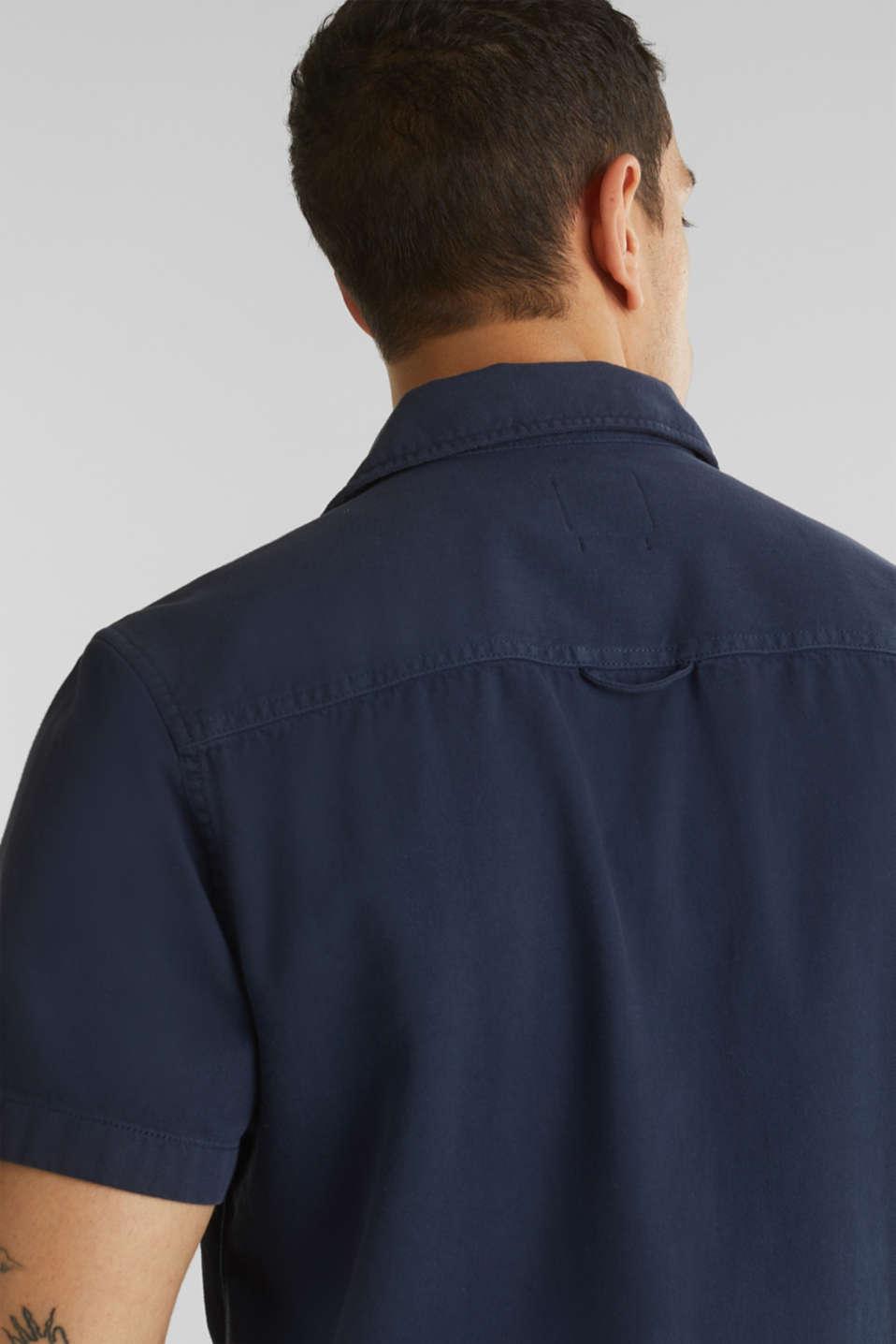 Short sleeve shirt, 100% cotton, NAVY 2, detail image number 5