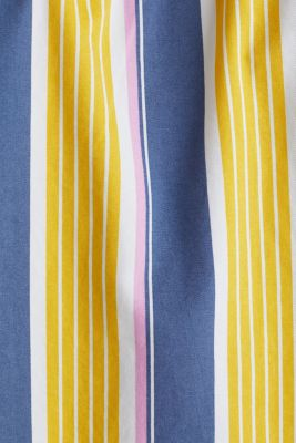 Short sleeve shirt, 100% cotton, BRIGHT YELLOW 3, detail