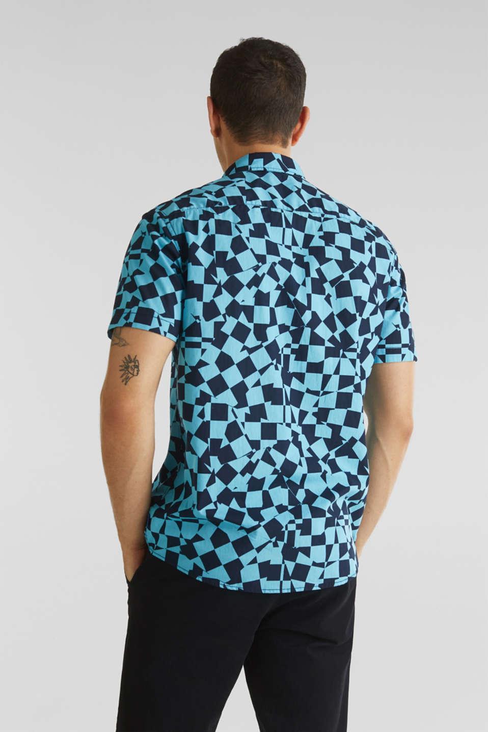 Short sleeve shirt, 100% cotton, LIGHT BLUE 4, detail image number 3