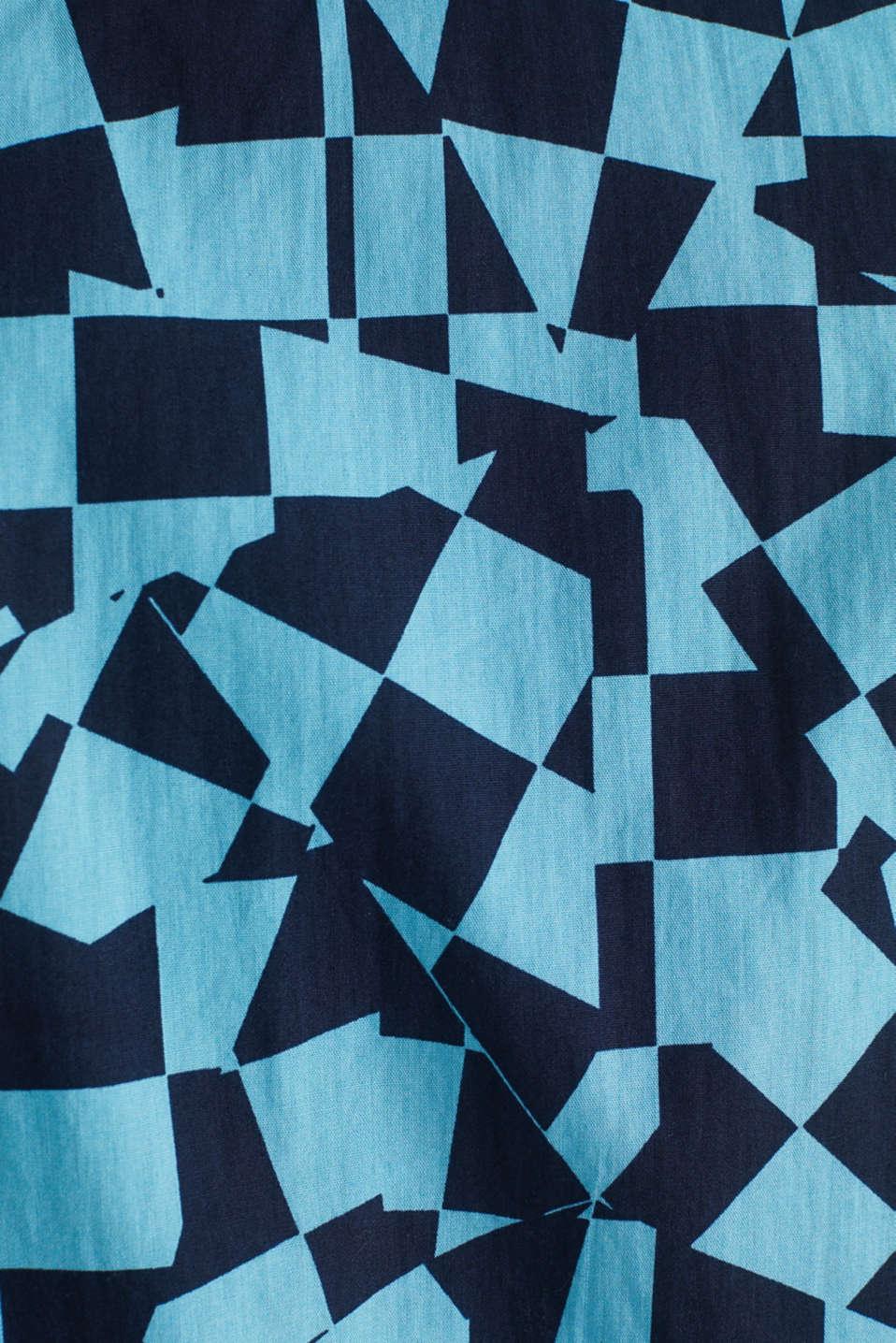 Short sleeve shirt, 100% cotton, LIGHT BLUE 4, detail image number 4