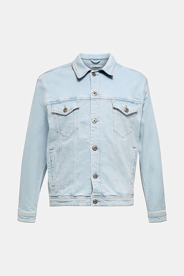 Denim jacket with organic cotton