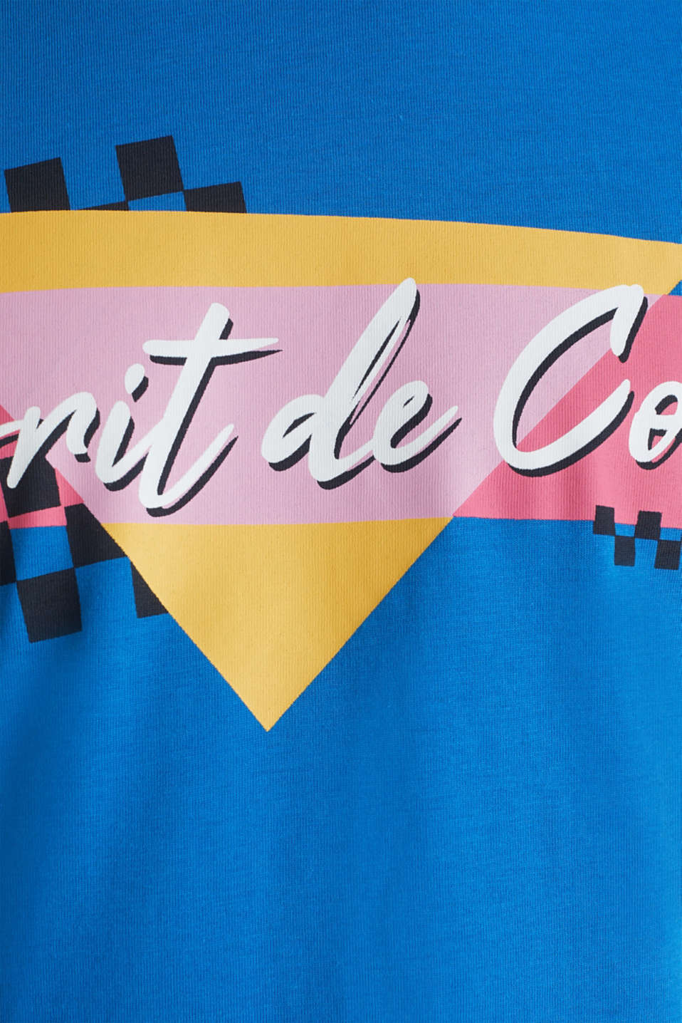 Jersey T-shirt in 100% cotton, BLUE, detail image number 4