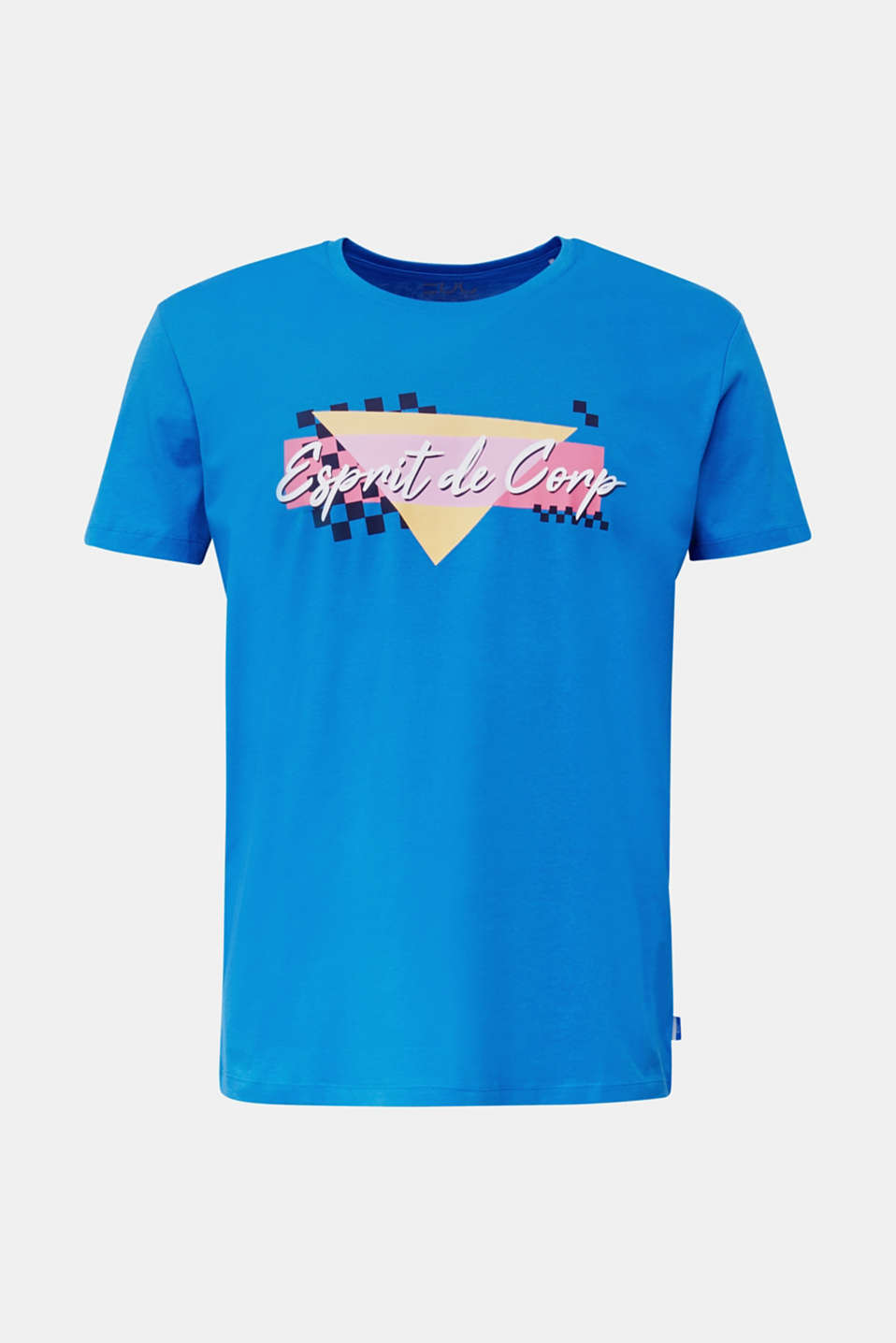 Jersey T-shirt in 100% cotton, BLUE, detail image number 7