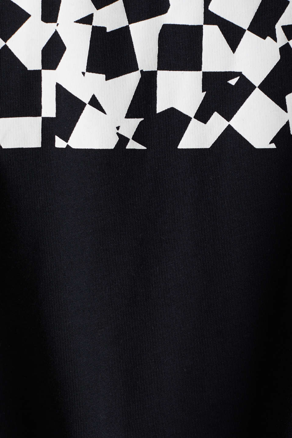 Jersey T-shirt with an on-trend print, 100% cotton, BLACK, detail image number 4