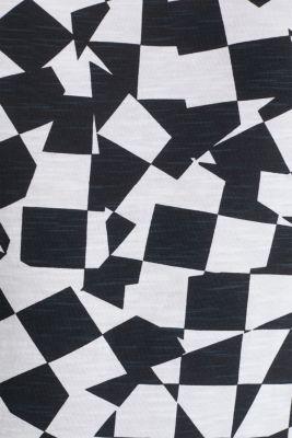 Slub jersey sleeveless top made of 100% cotton, WHITE, detail