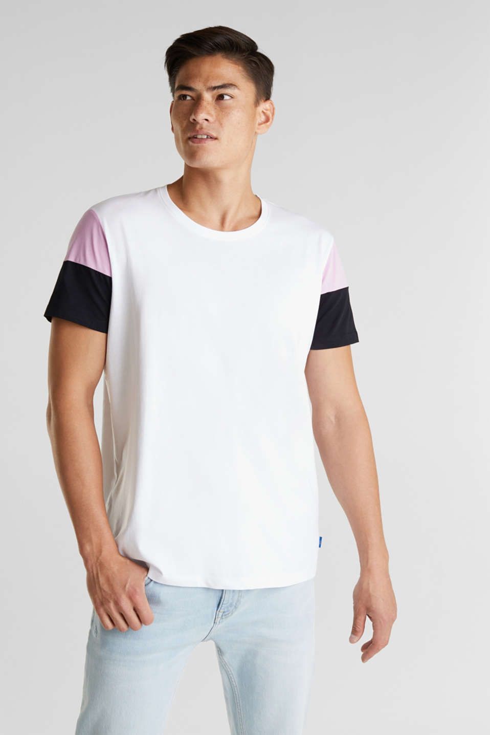 edc - Jersey T-shirt, 100% organic cotton