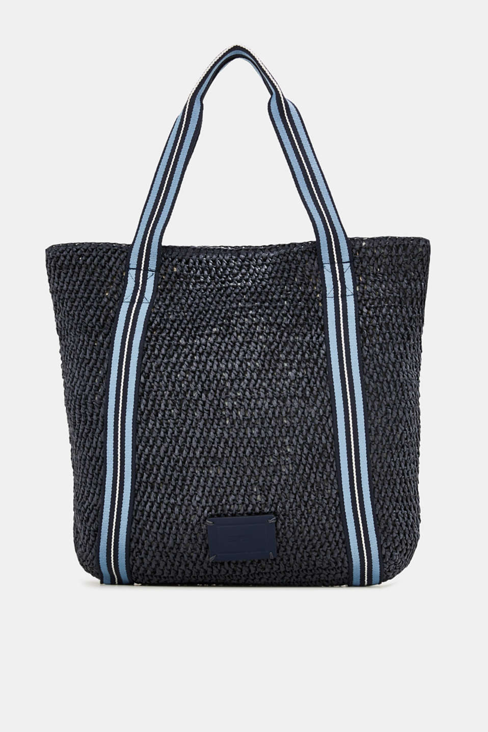 Esprit - Paper shopper with woven tape details