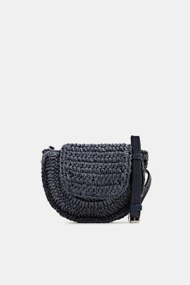 Braided belt bag, NAVY, detail