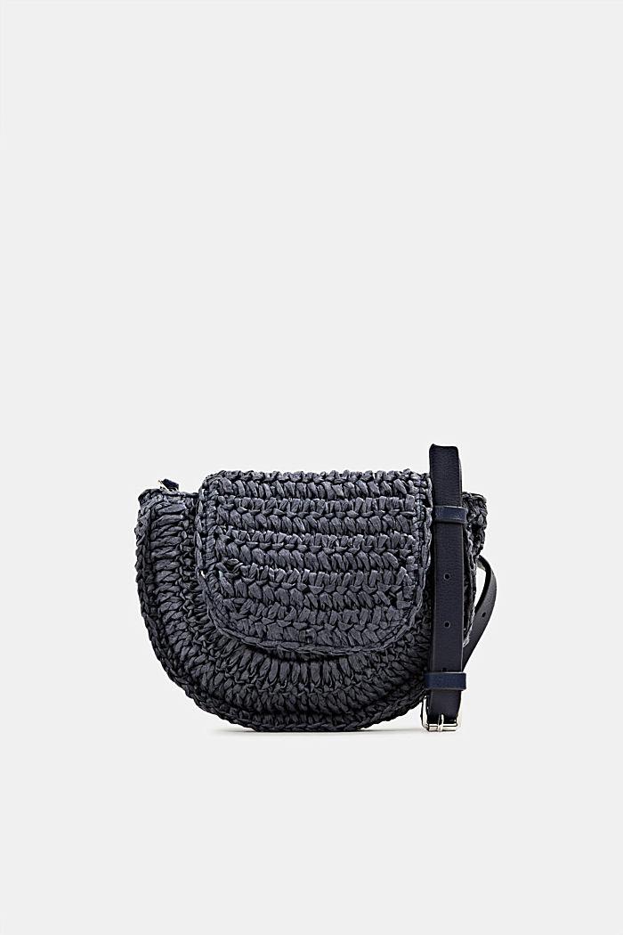 Braided belt bag, NAVY, detail image number 0