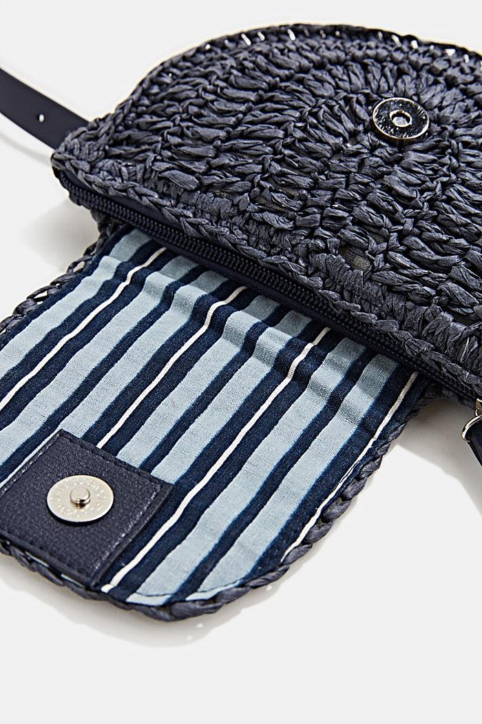 Braided belt bag, NAVY, detail image number 2