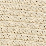 Bast shopper with contrast stripes, CREAM BEIGE, swatch