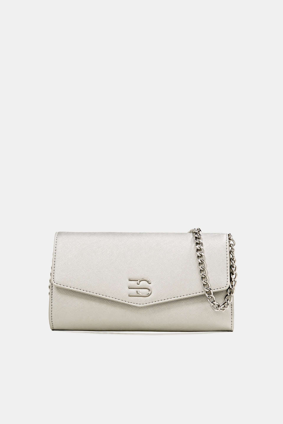 Esprit - Clutch with shoulder chain, vegan