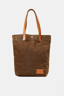 EarthColors® canvas tote bag, SKIN BEIGE, detail
