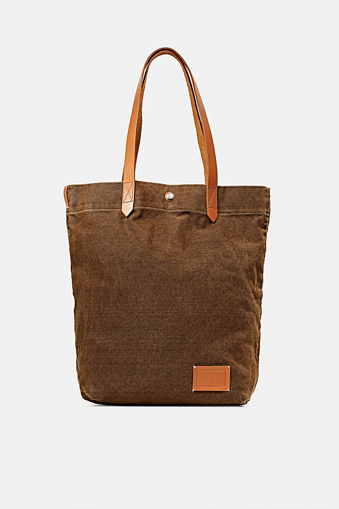 EarthColors® Tote-Bag aus Canvas, SKIN BEIGE, detail image number 0