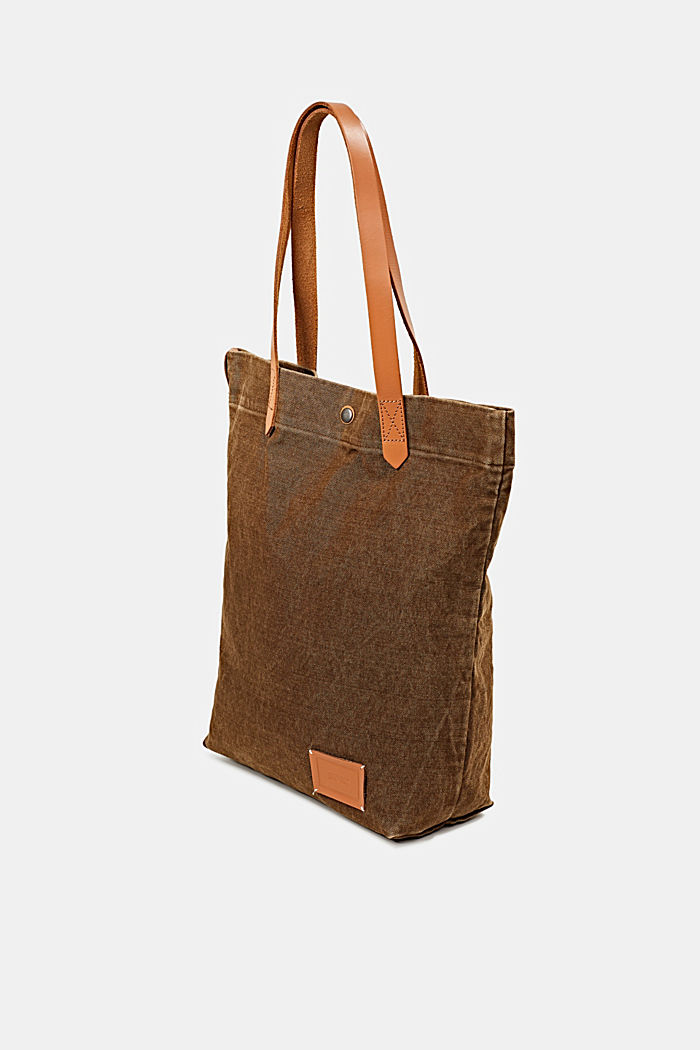 EarthColors® Tote-Bag aus Canvas, SKIN BEIGE, detail image number 2