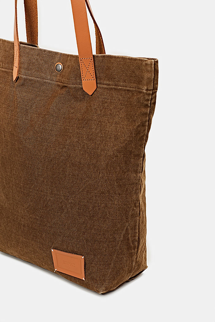 EarthColors® Tote-Bag aus Canvas, SKIN BEIGE, detail image number 3