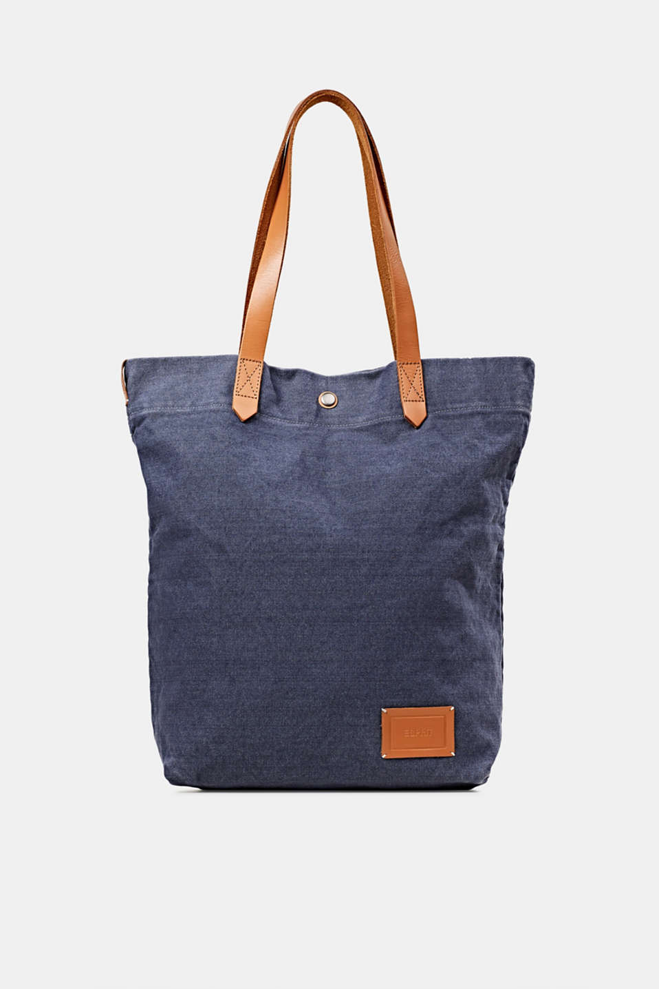 Esprit - EarthColors® tote bag van canvas