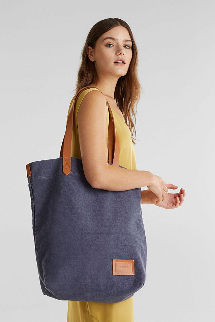 EarthColors® canvas tote bag