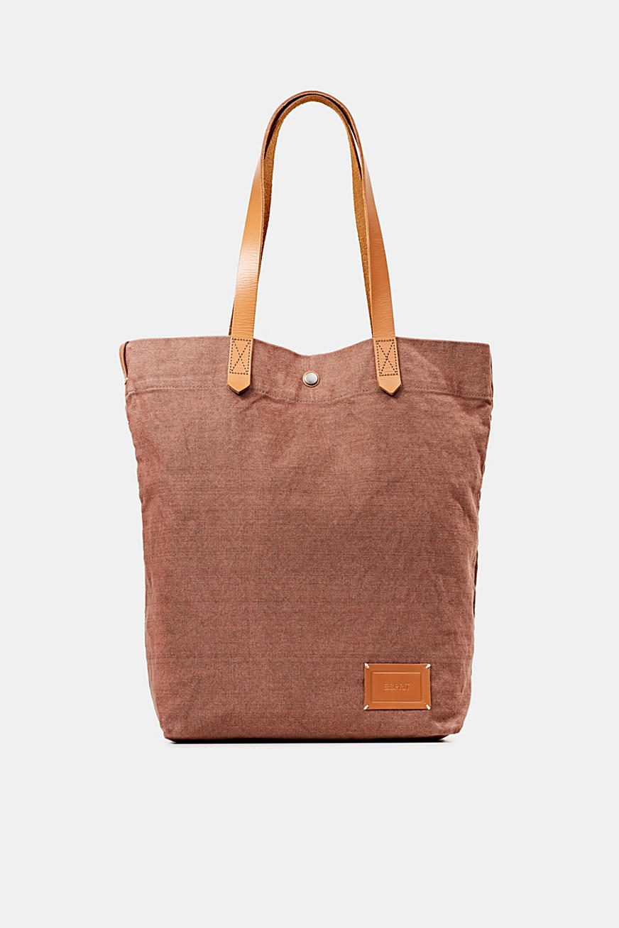 EarthColors® canvas tote bag