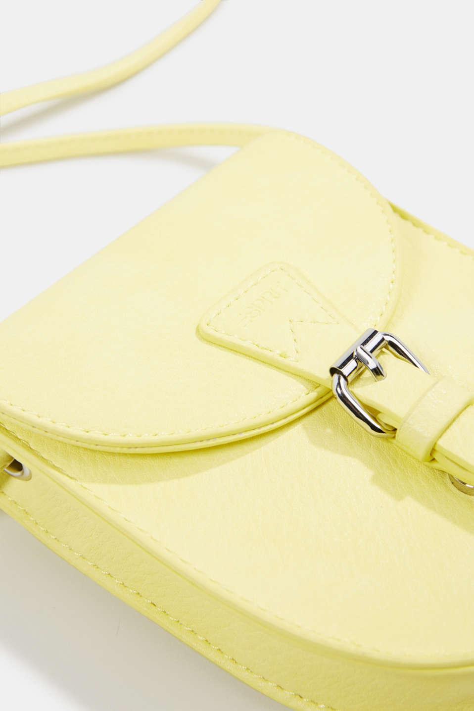 Susie T. range: Mini bag, vegan, LIGHT YELLOW, detail image number 3