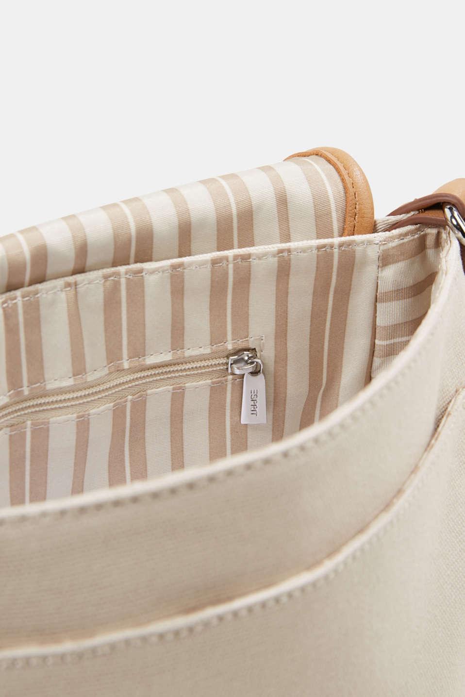 Susie T. shoulder bag, LIGHT BEIGE, detail image number 4