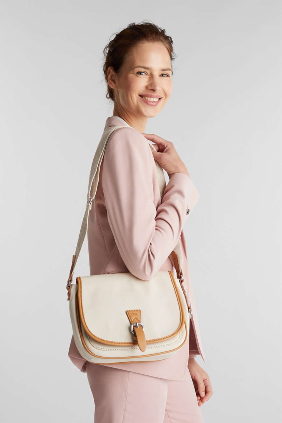 Susie T. shoulder bag, LIGHT BEIGE, detail image number 1