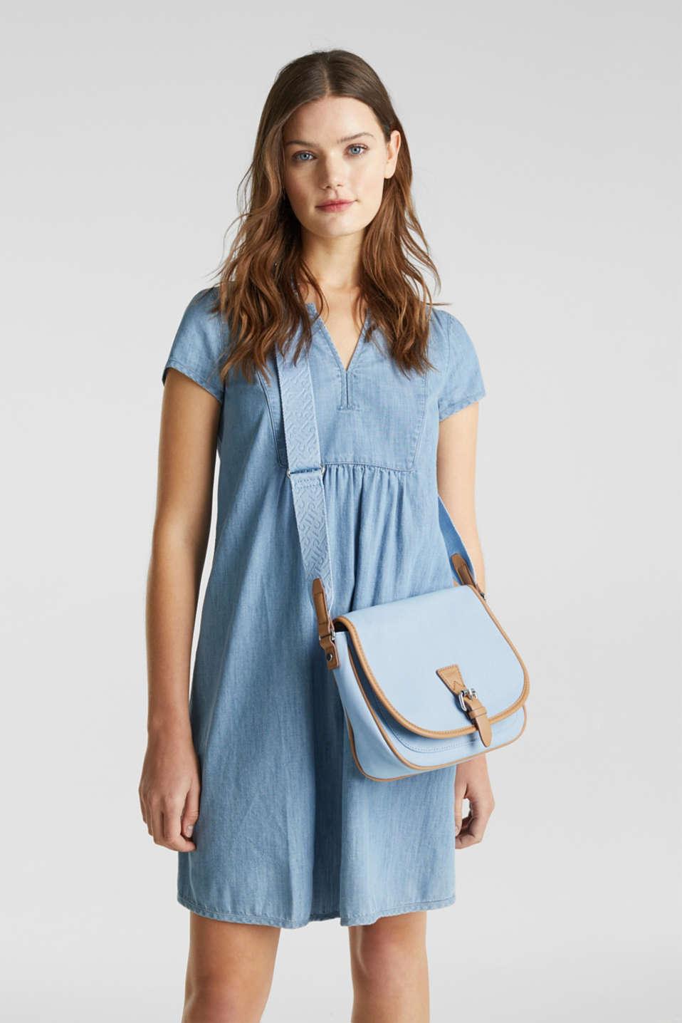 Susie T. shoulder bag, LIGHT BLUE, detail image number 1