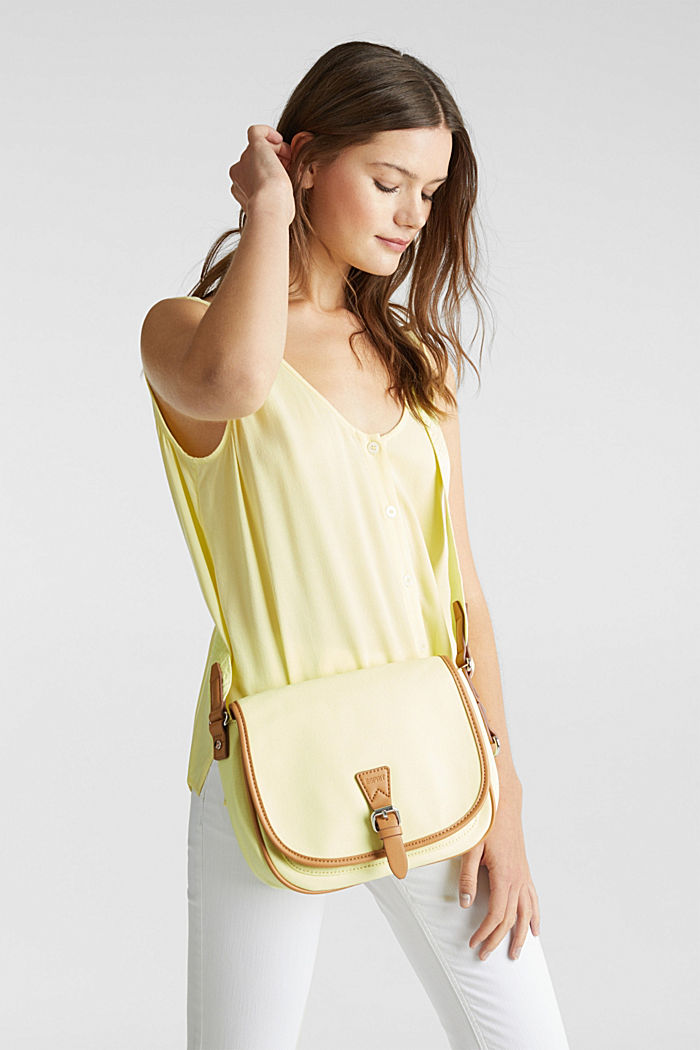 Schultertasche Susie T., LIGHT YELLOW, detail image number 1